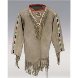 Apache Beaded Man's Shirt, early 20th century