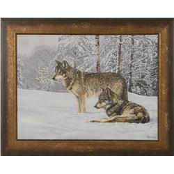 Jon Ren, oil on canvas