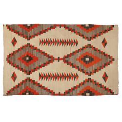 "Navajo Weaving, 77"" x 48"", 1890-1910"