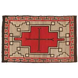 "Navajo Weaving, Klagetoh, 83"" x 52"", C. 1930s"