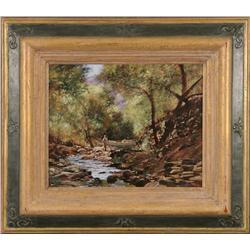 John Meyer, oil on canvas