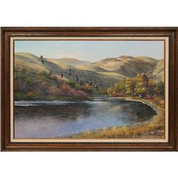 Robert Thomas, oil on canvas