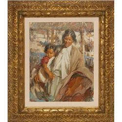 Ramon Kelley, oil on canvas