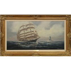 Edward Barton, oil on canvas