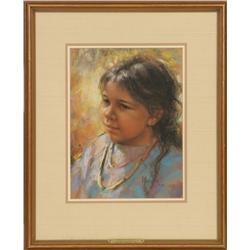 Arlene Hooker Fay, pastel
