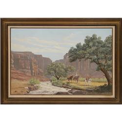 D. Allen, oil on canvas