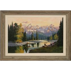 Robert Walton, oil on canvas