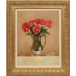 William Acheff, oil on canvas