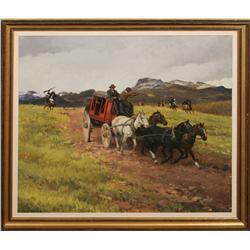 Francis Henry Beaugureau, oil on canvas