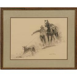 Gary Carter, mixed medium. Cowboy Artists of America