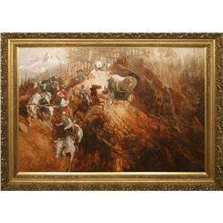 Lorenzo Ghiglieri, oil on canvas