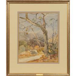 Frederick W. Becker, watercolor