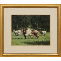 R.E. Pierce, oil on canvas