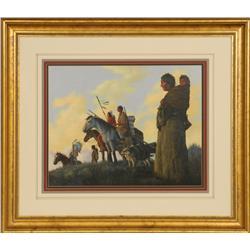 Hal Sutherland, oil on canvas