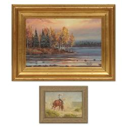 Jack Fordyce and William Bailey oil paintings