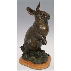 "Anderson, bronze, 12 1/2"" x 9"" x 7"", Bunny"