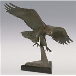 """Robert Refven, bronze, 18"""" x 24"""" x 12"""", The Symbol"""