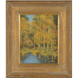 Willard Page, oil on canvas