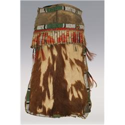 Sioux 19th Century Medicine Bundle from calf hide