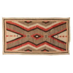 """Navajo Weaving,Ganado,  84"""" x 46"""", C. 1920s"""