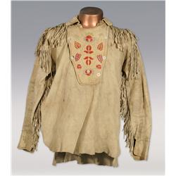 Cree Embroidered Scout Jacket, 19th century, classic designs