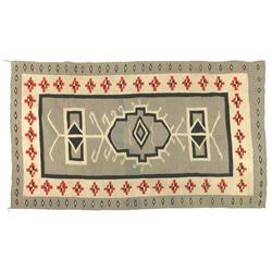 "Navajo Weaving, Crystal, 88"" x 57"", C.1910, J.B. Moore catalog plate"