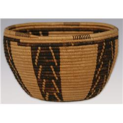 "Panamint Basket, Mid 20th century, 3 1/2"" x 5 1/2"""