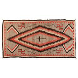 """Navajo Weaving, 110"""" x 58"""", C. 1920"""
