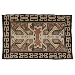 "Navajo Weaving, Teec Nos Pos, 75 1/2"" x 48"", C. 1930, excellent condition"