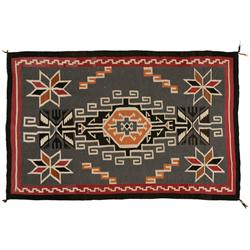 """Navajo Weaving, Teec Nos Pos, 75"""" x 48"""", C. 1920-1930"""