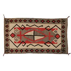 "Navajo Textile, 73"" x 42"", J.B. Moore catalog plate XXIV, C 1911"