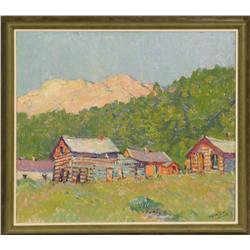 W.H.D. Koerner, oil on board