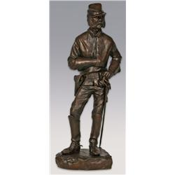 "Richard Greeves, bronze, 19"" x 6 1/2"" x 5 1/2"", Lee Marvin"