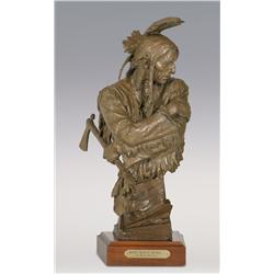 "Blair Buswell, bronze, 19""x 7 1/2"" x 9 1/2"", How Many More"