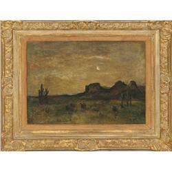 Albert Groll, oil on canvas