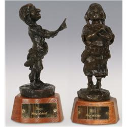 Gary Schildt, Two Bronzes, Napi, 8  and Wife, 9