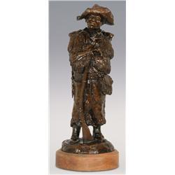 "Dan Huber, Bronze, 16"" x 6"" x 5 3/4"", Isaiah"