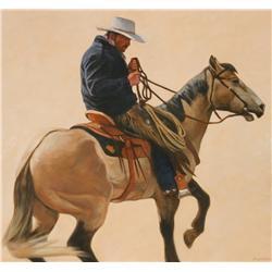 Daryl Poulin, acrylic on canvas