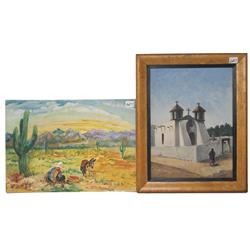 TWO MEXICAN PAINTINGS