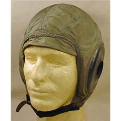 WW2 NYLON FLIGHT HELMET