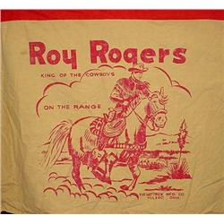 C. 1950'S ROY ROGERS CHILDS PLAY TENT W/ ORIG. POS