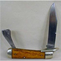 C. 1918 MARBLE'S FOLDING KNIFE - Blade approx. 4""