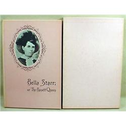 "1889 FACSIMILE REPRINT ""BELLA STARR THE BANDIT QUE"