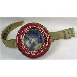 WW2 US ARMY WRIST COMPASS - Marked on Back, US Arm