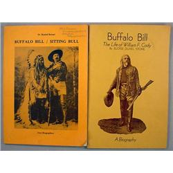LOT OF 2 VINTAGE BOOKLETS - BUFFALO BILL AND SITTI