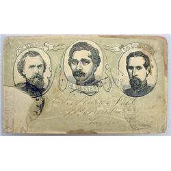 "RARE CIVIL WAR ""OUR ZOUAVES"" ENVELOPE W/ ILLUSTRAT"