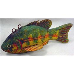 "VINTAGE WOODEN FISH DECOY / LURE - Approx. 5.75"" l"