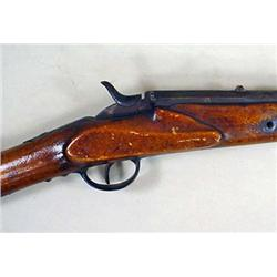 EARLY FALLING BLOCK BELGIUM SINGLE SHOT RIFLE NO.