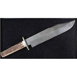 GEO. WOSTEHOLM AND SON IXL BOWIE KNIFE - SHEFFIELD