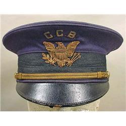 WW1 ERA US MILITARY HAT - POSS. BAND LEADER'S